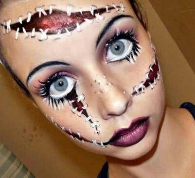 maquillaje-halloween-muneca-rota-descosida