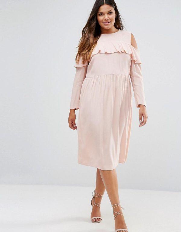 vestidos-de-fiesta-tallas-grandes-otono-invierno-2017-rosa-suave