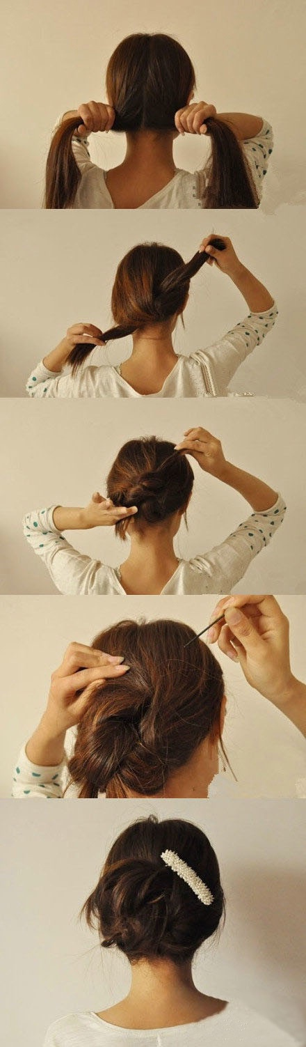 peinados-faciles-paso-a-paso-recogido-anudado