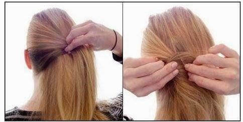 peinados-faciles-pelo-largo-coleta-enrollada-2-1-2