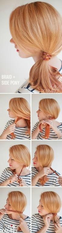 peinados-faciles-pelo-largo-coleta-lateral-trenza