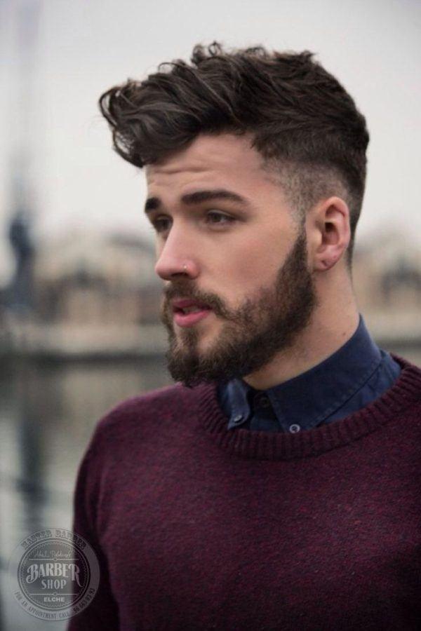 peinados-hombre-pelo-corto-tupe-barba