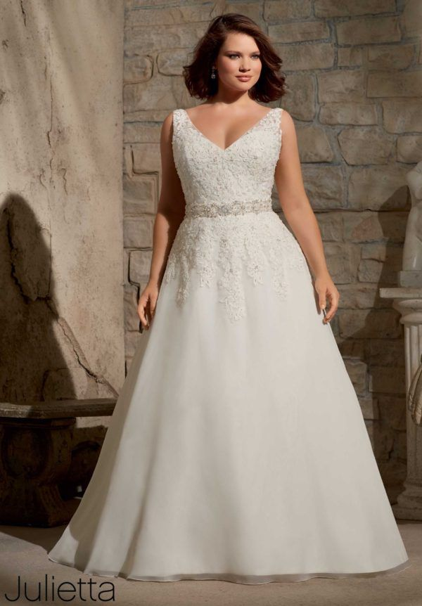 vestidos-de-novia-para-gorditas-evase-bordado