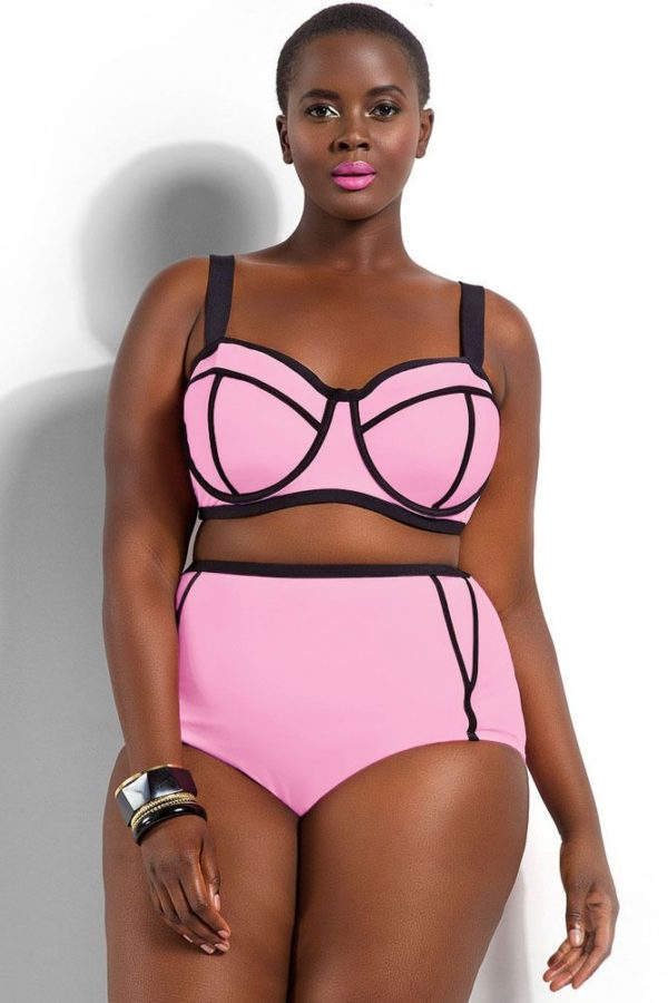 bikinis-neopreno-2016-tallas-grandes-rosa