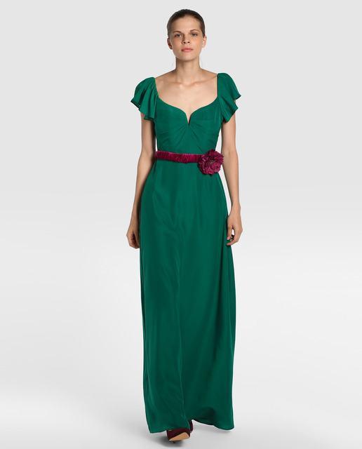 vestidos-verdes-drapeado-el-corte-ingles
