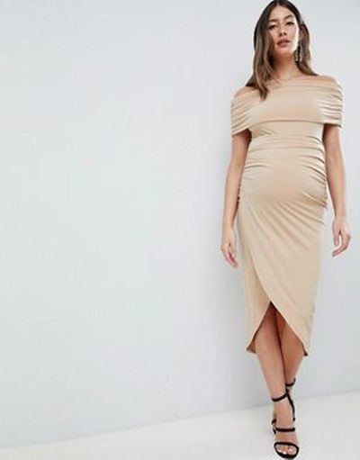 vestidos-de-fiesta-premama-para-embarazadas-midi-cenido-escote-bardot-kimmi-asos