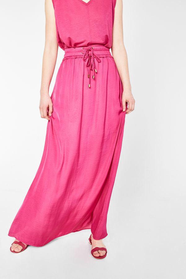 cortefiel-mujer-falda-larga-satinada