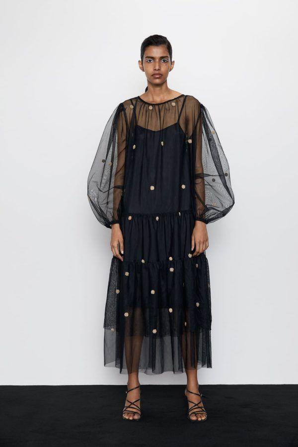 Vestidos De Fiesta Zara Invierno 2020 Blogmujeres Com