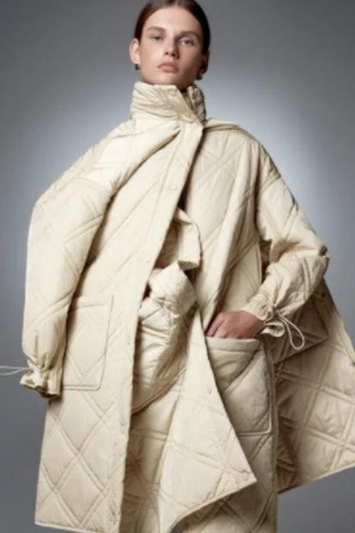 Abrigo acolchado de Zara Limited Edition
