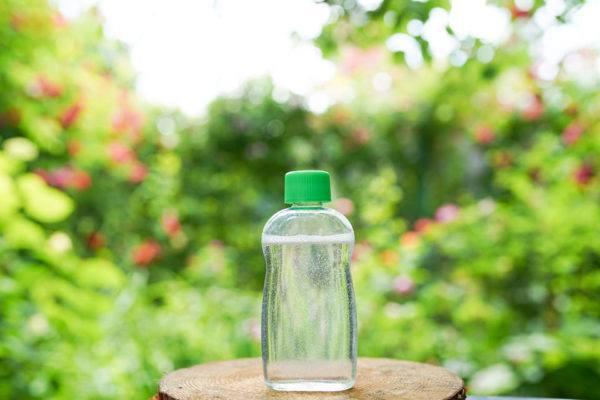 Agua micelar casera