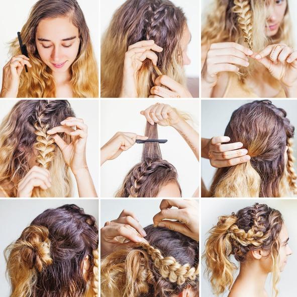 Peinados recogidos faciles