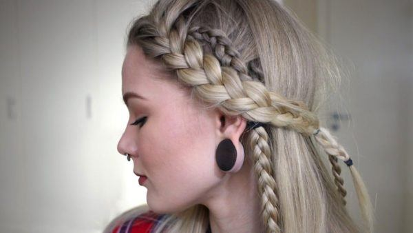 Peinado de Lagertha