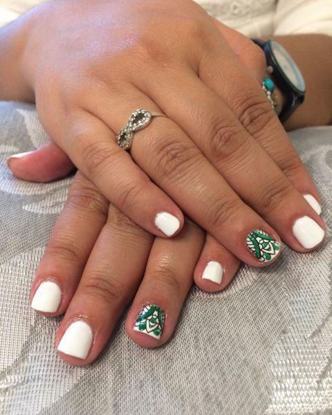 unas-decoradas-tribal-blanco-instagram