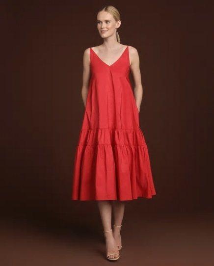 vestidos-de-fiesta-el-corte-ingles-boda-midi-tafeta-roja-woman-fiesta