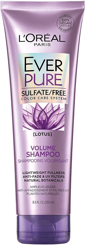 Champú L'Oreal Paris Hair Care Ever Pure Volume Shampoo