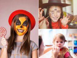 Maquillaje Halloween 2021 para niños - Paso a paso