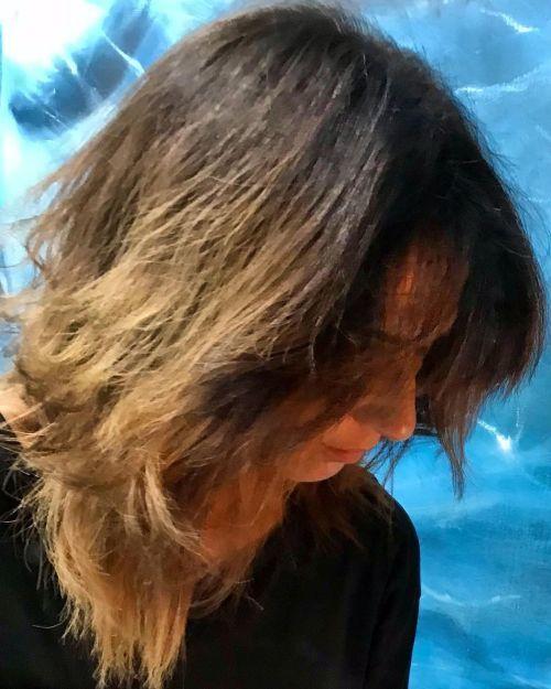 Corte de pelo degradado irregular