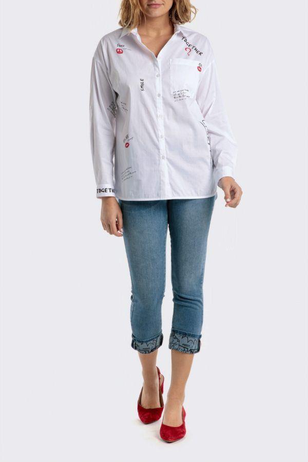 Catalogo punto roma primavera verano 2021 camisa blancas