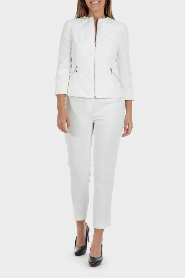Catalogo punto roma primavera verano 2021 chaqueta blanca