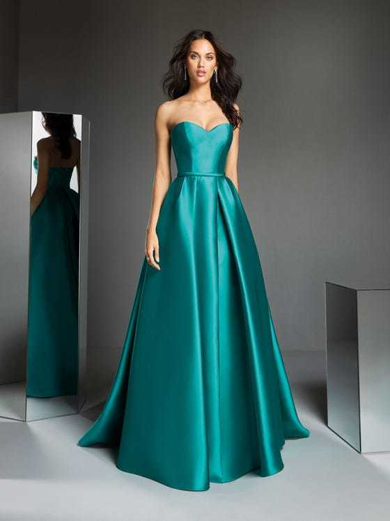 Vestidos de dama de honor largo pronovias modelo taona