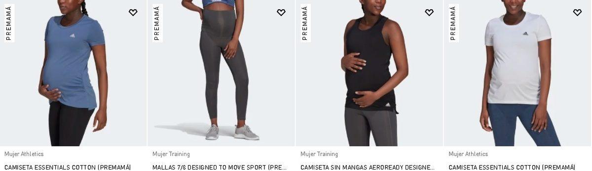 Mallas y camisetas Adidas Premamá 2021