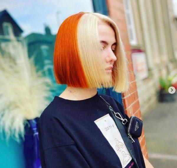 Cortes de pelo corto invierno 2021 tendencia media melena decolorada