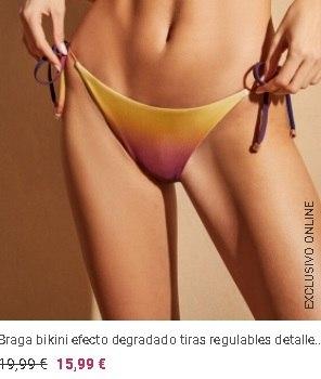 Micro Bikinis degradado Women´secret