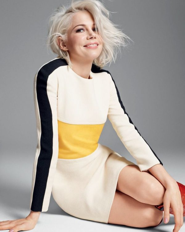 Cortes de pelo para pelo blanco media melena michelle williams