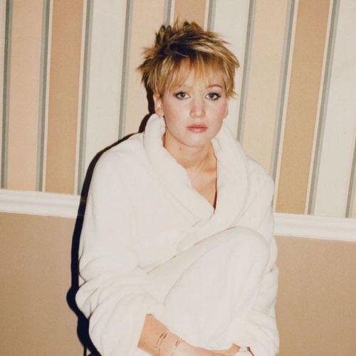 Corte de pelo pixie alocado Jennifer Lawrence