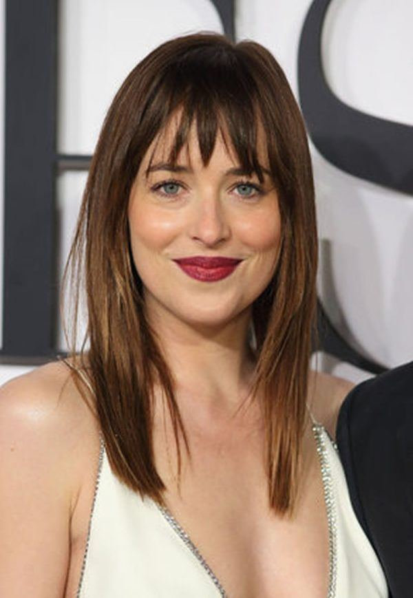 Cortes de pelo en v 2021 dakota johnson