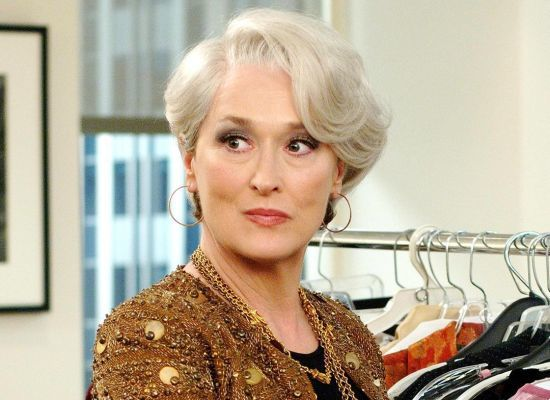 Pelo corto lacio Meryl Streep