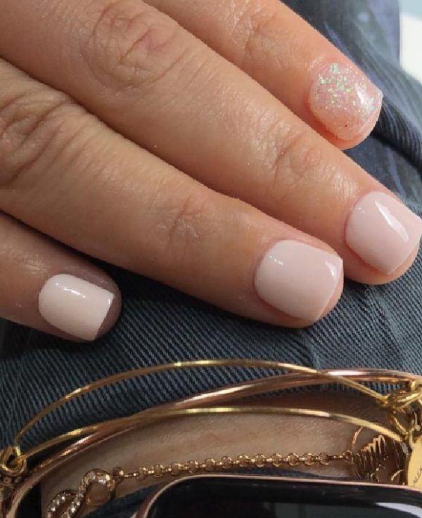 Dip powder nails 2021 uñas cortas
