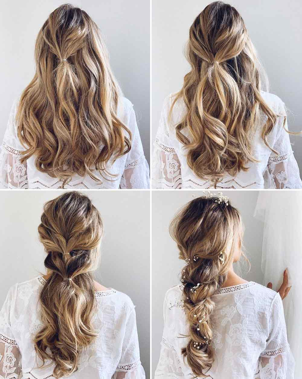 Tutorial trenza elástica pelo largo