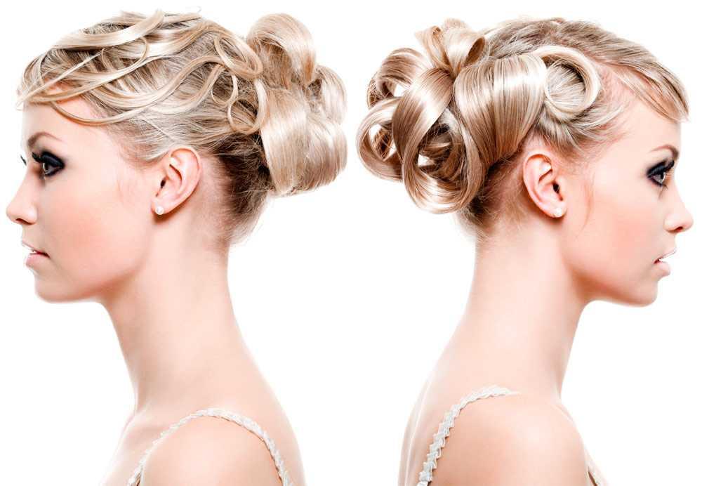 Peinados de novia recortados