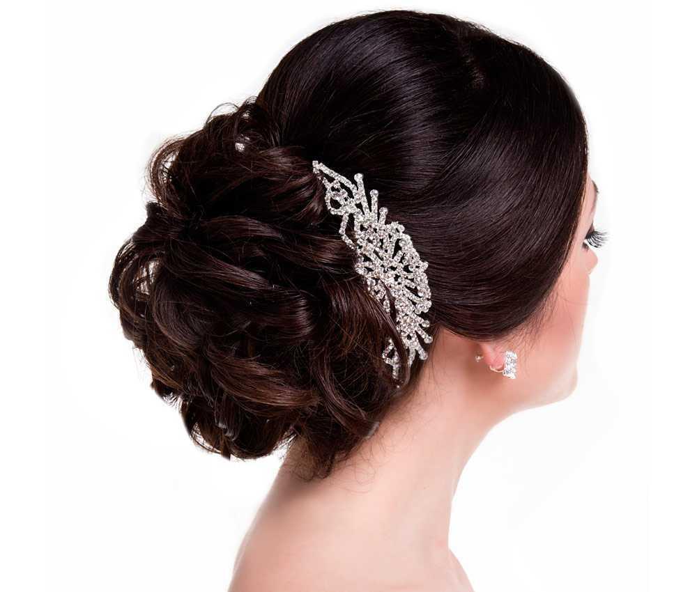 Peinado de novia joya