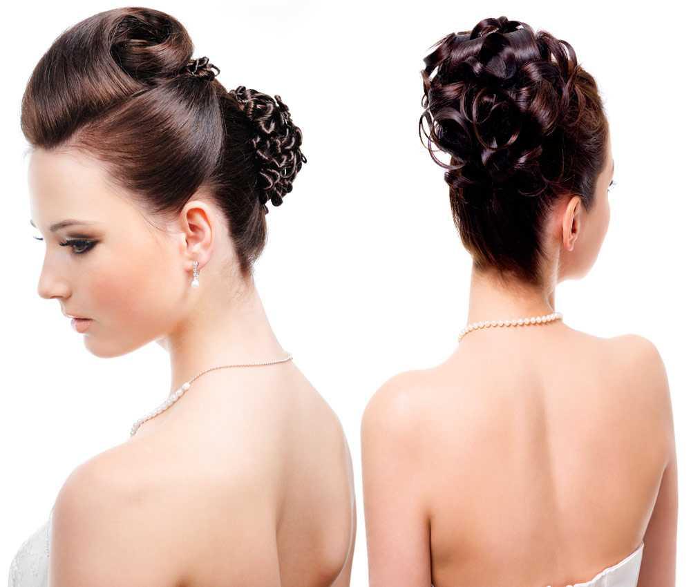 Colección de peinados de novia