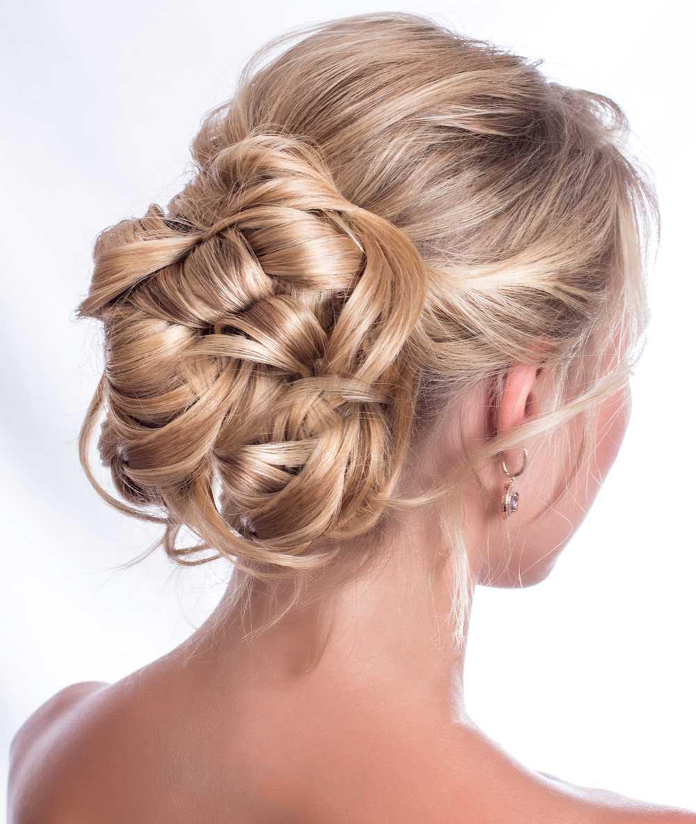Peinados de novia pelo rubio