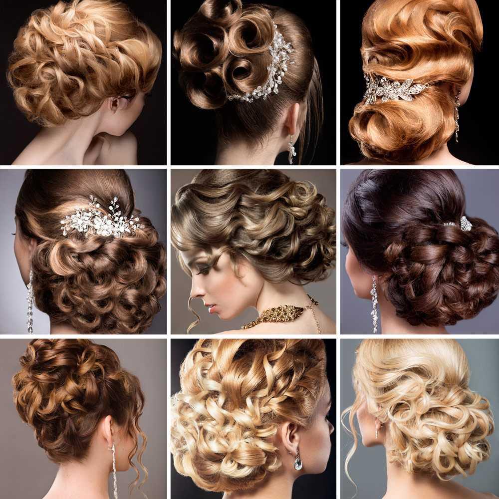 Peinados de noviaCorte de pelo