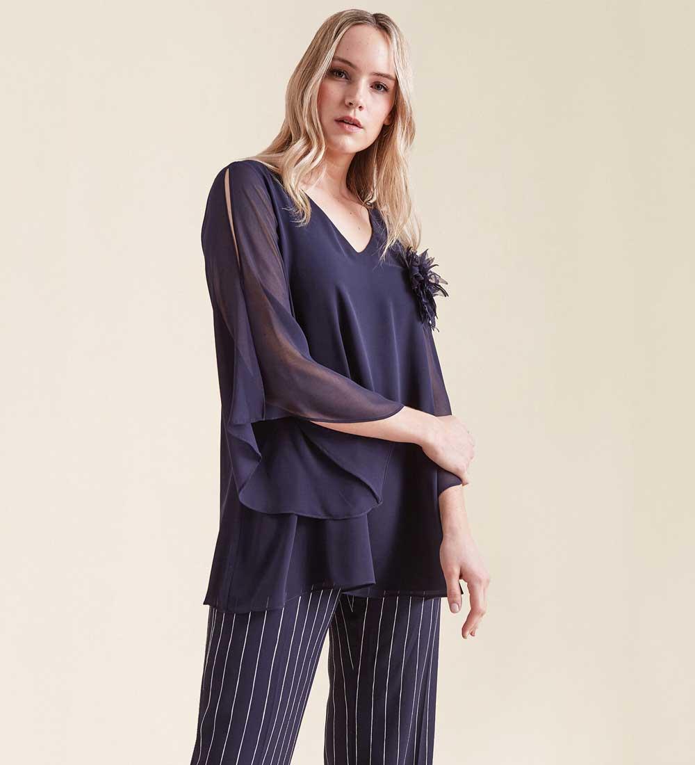 vestidos con pantalones 2021