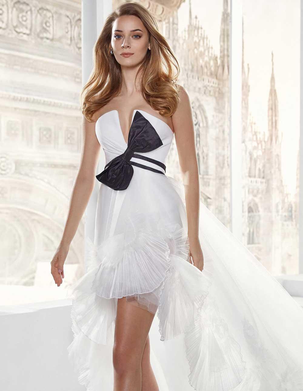 vestidos de novia cortos 2021 2022
