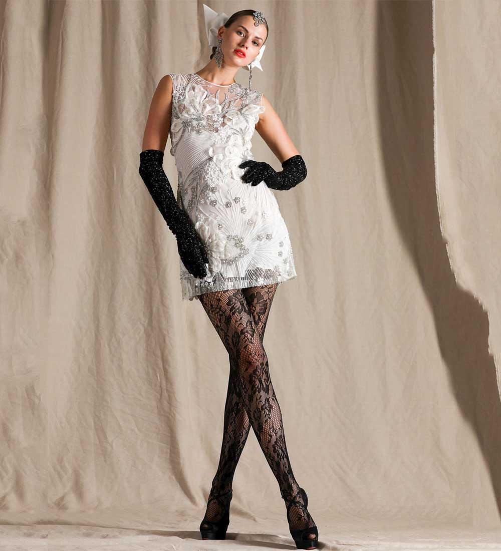 vestidos de novia cortos 2021