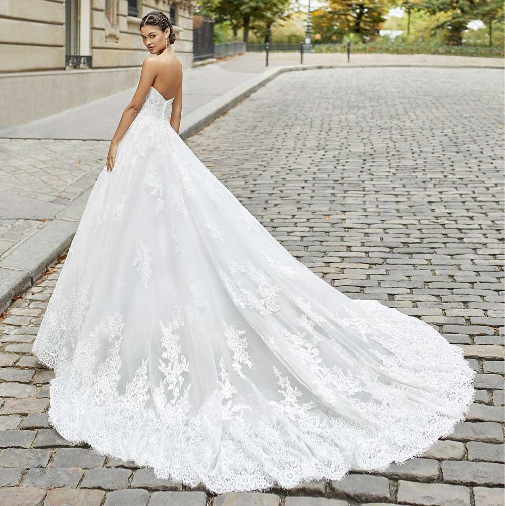 vestidos de novia de princesa 2022