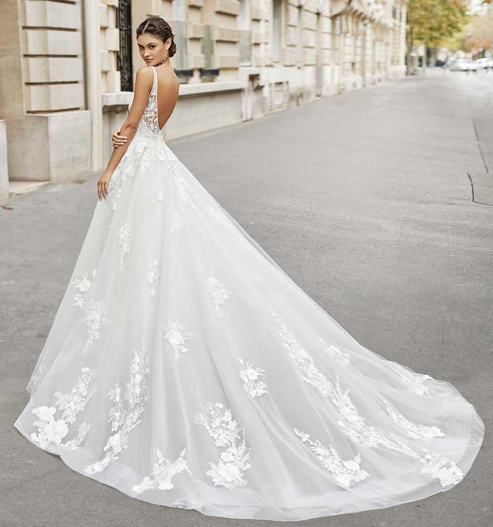 vestidos de novia de princesa 2021 2022