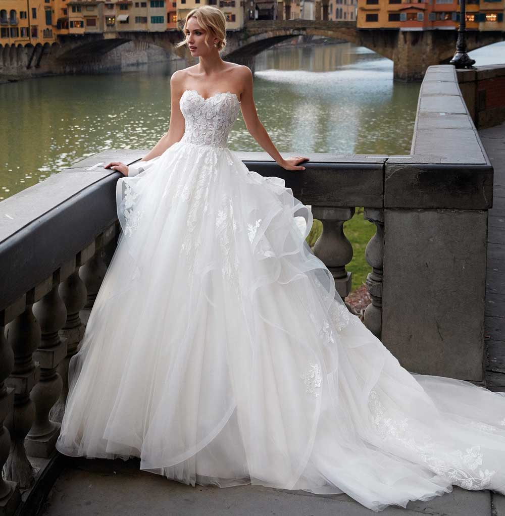 Maxi vestido de novia Nicole