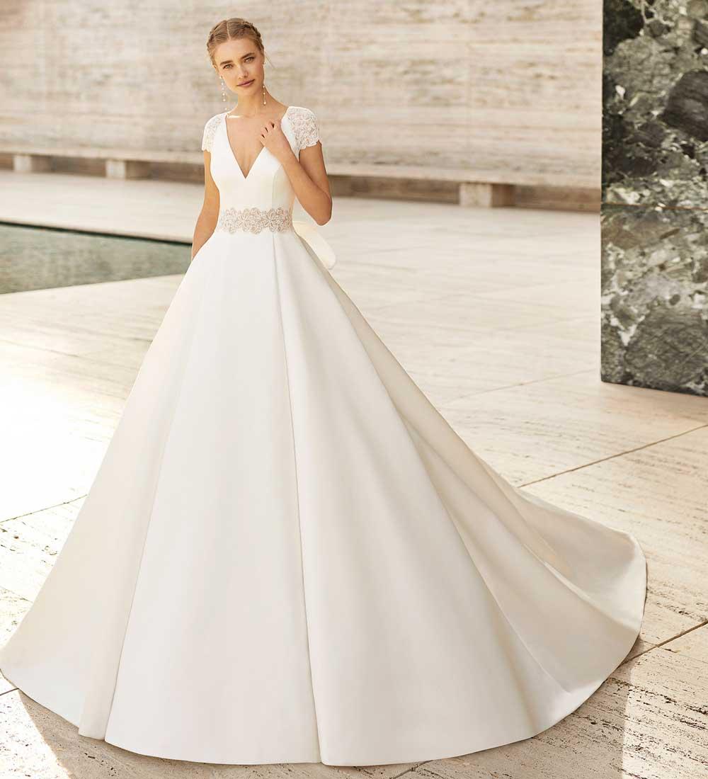 Vestido de novia Rosa Clara grande
