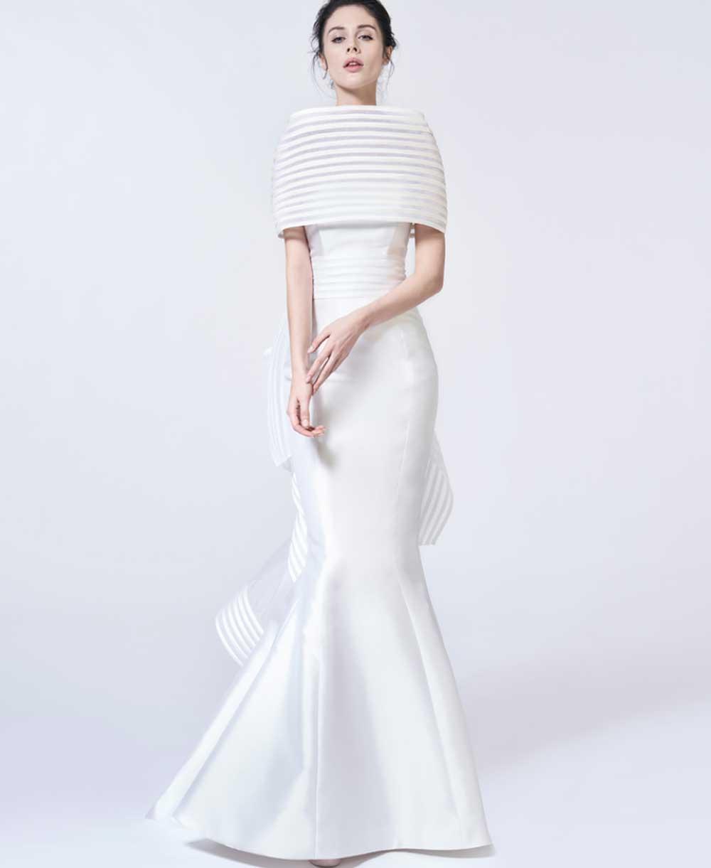 Capa del vestido de novia