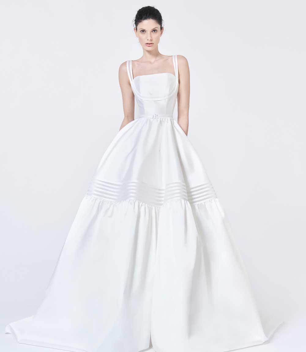 Vestido de novia Carlotta