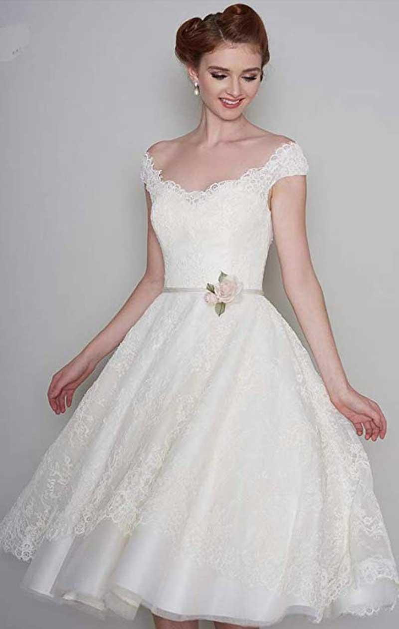 Vestidos de novia baratos 2020