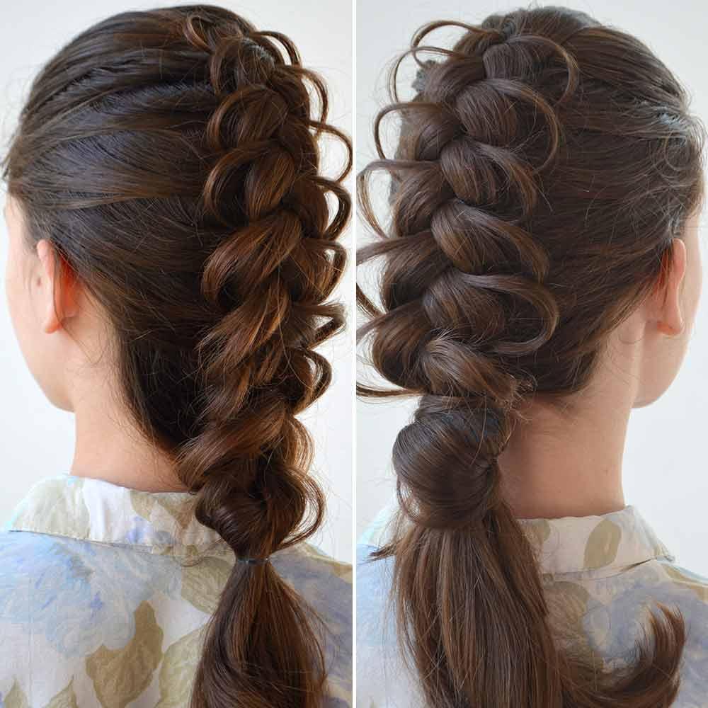 Peinados para niñas de confirmacióntreccia