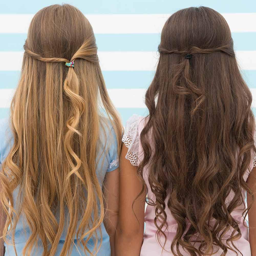 Peinados de niña fáciles y rápidos